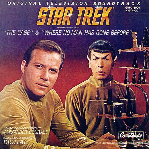 Star Trek Vol. 1: The Cage/Where No Man Has Gone Before by Alexander Courage
