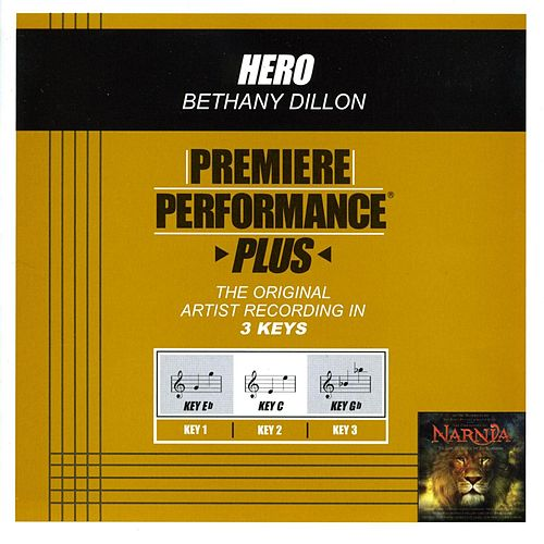Play & Download Hero (Premiere Performance Plus Track) by Bethany Dillon | Napster