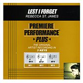 Lest I Forget (Premiere Performance Plus Track) by Rebecca St. James