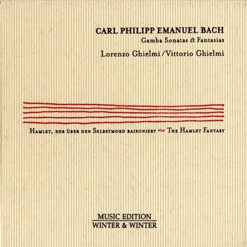 Carl Philipp Emanuel Bach: Gamba Sonatas & Fantasias by Lorenzo Ghielmi