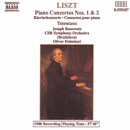 Play & Download Piano Concertos Nos. 1 and 2 by Franz Liszt | Napster
