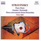 Piano Music by Igor Stravinsky