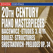 Play & Download 20th Century Piano Masterpieces by Various Artists | Napster