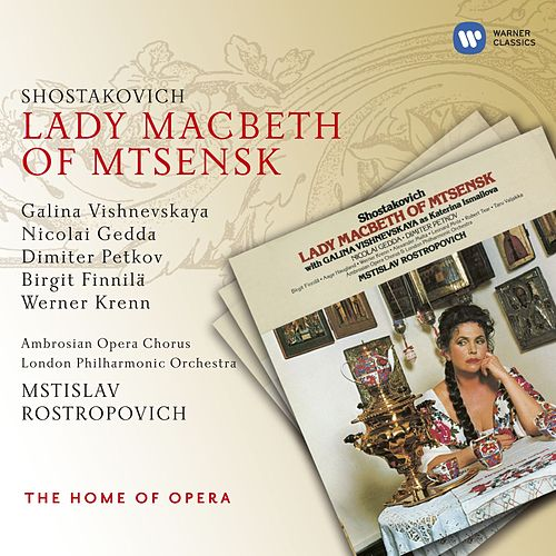 Shostakovich: Lady Macbeth of Mtsensk by Various Artists