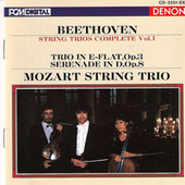 Play & Download Ludwig Van Beethoven: String Trios by Mozart String Trio | Napster