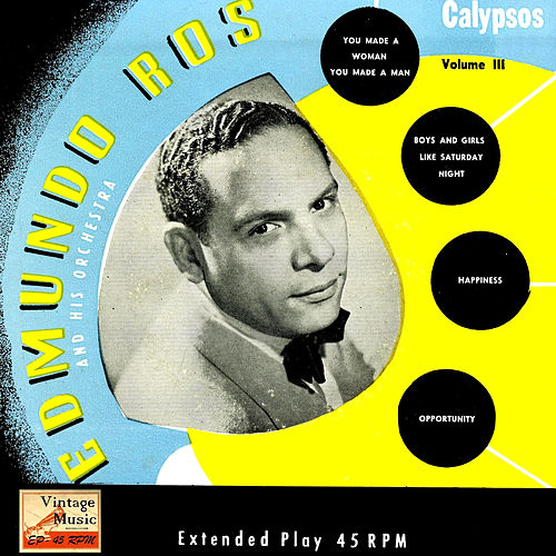Play & Download Vintage Dance Orchestras Nº 67 - EPs Collectors 'Edmundo Ros Sing Calypsos' by Edmundo Ros | Napster