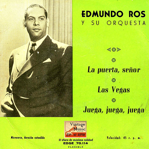 Vintage Dance Orchestras Nº 68 - EPs Collectors 'The Door, Señor' by Edmundo Ros