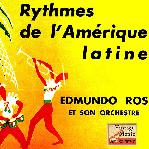 Vintage Dance Orchestras Nº 71 - EPs Collectors 'Rythmes From Latin America' by Edmundo Ros