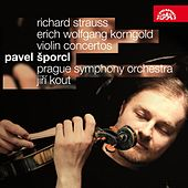 Play & Download Strauss / Korngold: Violin Concertos by Pavel Sporcl | Napster