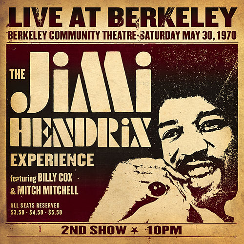 Play & Download Live At Berkeley by Jimi Hendrix | Napster