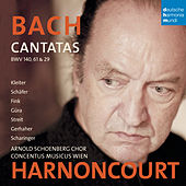 Play & Download Bach: Cantatas BWV 29, 61 & 140 by Nikolaus Harnoncourt | Napster