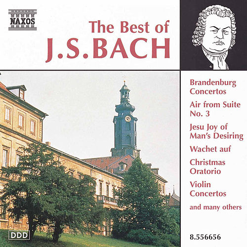The Best of J.S. Bach by Johann Sebastian Bach