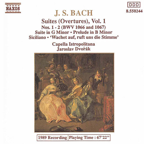 Play & Download Suites (Overtures) Vol. 1 by Johann Sebastian Bach | Napster
