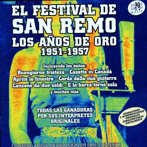 El Festival De San Remo - Los Años De Oro (1951-1957) by Various Artists