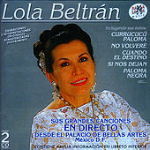 Play & Download Lola Beltrán En Directo Desde El Palacio De Bellas Artes De México by Lola Beltran | Napster