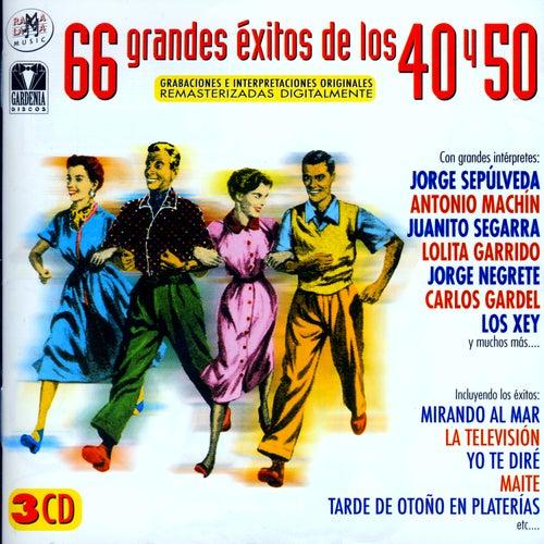 66 Grandes Éxitos De Los 40 y 50 by Various Artists