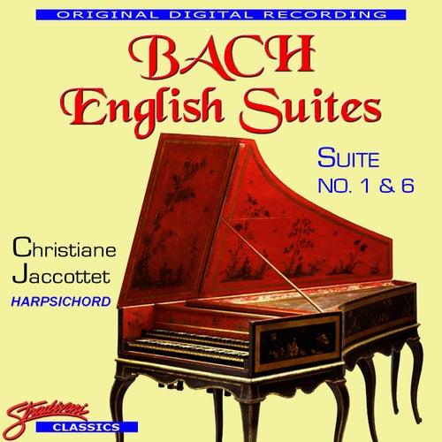 Bach English Suites No. 1 & 6 by Johann Sebastian Bach