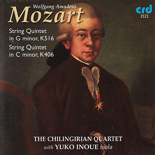 Mozart: String Quintet in G Minor, String Quintet in C Minor by Chilingirian Quartet