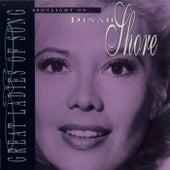 Spotlight On Dinah Shore by Dinah Shore