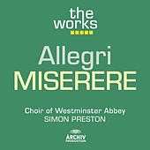 Play & Download Allegri: Miserere by Westminster Abbey Choir | Napster