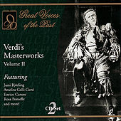 Play & Download Verdi's Masterworks Vol. II by Various Artists | Napster