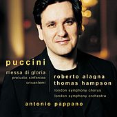 Puccini : Messa di Gloria etc by Various Artists