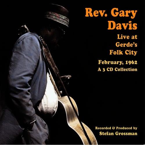 Live at Gerde's Folk City by Reverend Gary Davis