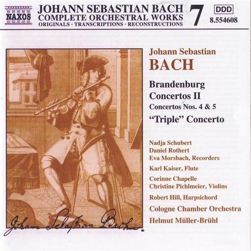 Play & Download Brandenburg Concertos Vol. 2 by Johann Sebastian Bach | Napster