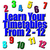 Learn Your Timestables - From 2 - 12 by Kids - Female