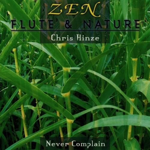 Play & Download Zen: Flute & Nature - Never Complain by Chris Hinze | Napster