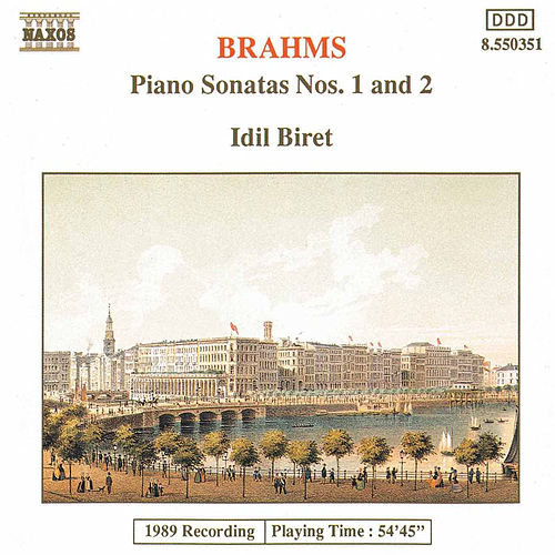 Play & Download Piano Sonatas Nos. 1 and 2 by Johannes Brahms | Napster