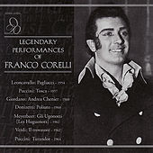 Play & Download Legendary Performances of Franco Corelli by Various Artists | Napster