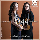 Play & Download Bartók: 44 Violin Duos by Angela Chun | Napster