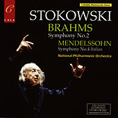 Brahms: Symphony No. 2 - Mendelssohn: Symphony No. 4 by National Philharmonic Orchestra