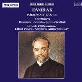Rhapsody Overtures by Antonin Dvorak