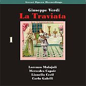 Play & Download Great Opera Recordings / Verdi: La Traviata [1933], Volume 1 by La Scala Chorus and Orchestra | Napster