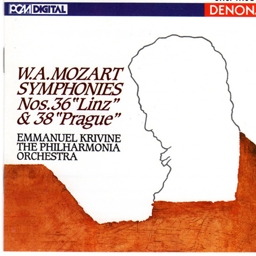 Play & Download Mozart: Symphonies Nos. 36 'Linz' & 38 'Prague' by Philharmonia Orchestra | Napster