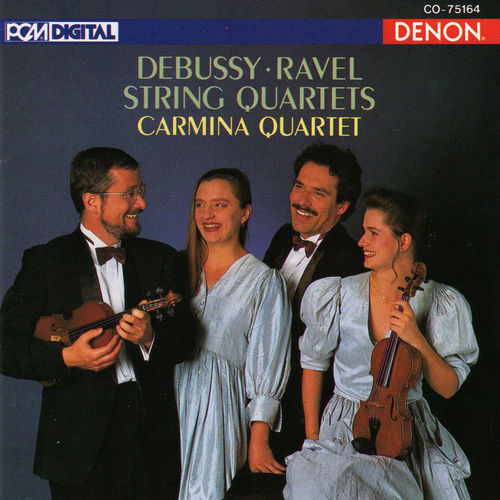 Play & Download Debussy & Ravel: String Quartets by Carmina Quartet | Napster