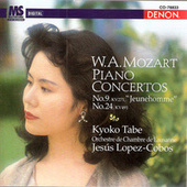 Play & Download Mozart: Piano Concertos Nos. 9 & 24 by Kyoko Tabe | Napster
