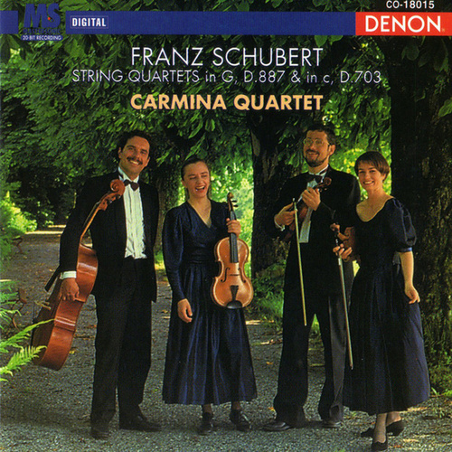 Play & Download Schubert: String Quartets by Carmina Quartet | Napster