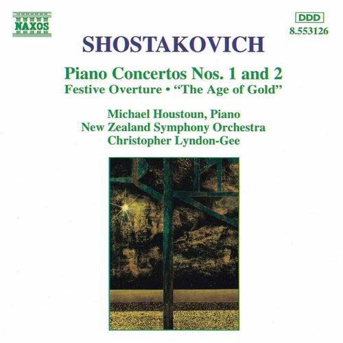 Piano Concertos Nos. 1 and 2 by Dmitri Shostakovich