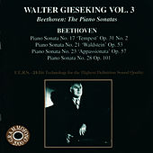 Beethoven: The Piano Sonatas, Vol. 3 by Walter Gieseking