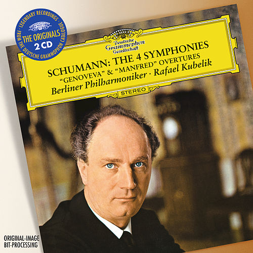 Play & Download Schumann: The 4 Symphonies; Overtures Opp.81 'Genoveva' & 115 'Manfred' by Berliner Philharmoniker | Napster