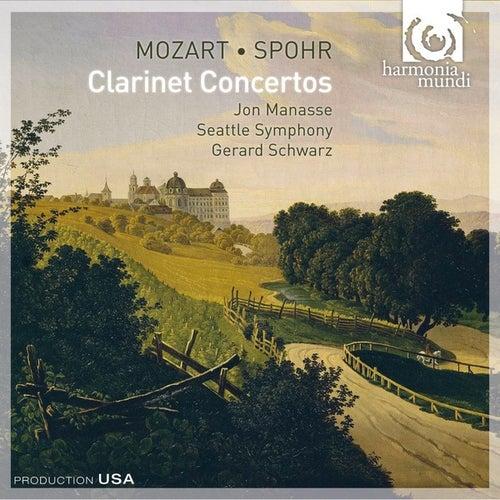 Mozart & Spohr: Clarinet Concertos by Jon Manasse