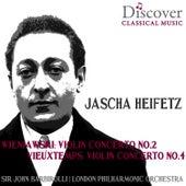 Play & Download Wieniawski & Vieuxtemps: Violin Concerto No. 2 & Violin Concerto No. 4 by London Philharmonic Orchestra | Napster