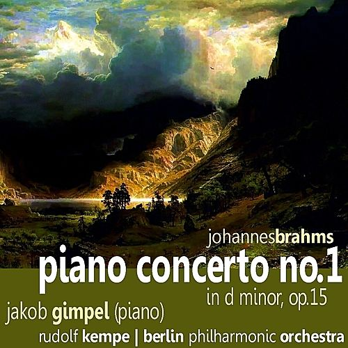 Brahms: Piano Concerto No. 1 by Jakob Gimpel