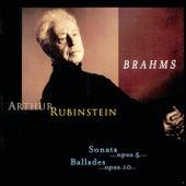 Play & Download Rubinstein Collection, Vol. 63: Brahms: Sonata, Op. 5, Intermezzo, Romance, Ballades, Op. 10 by Arthur Rubinstein | Napster