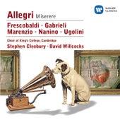 Play & Download Nanino/Allegri/Marenzio/Frescobaldi/Ugolini/Gabrieli by Various Artists | Napster