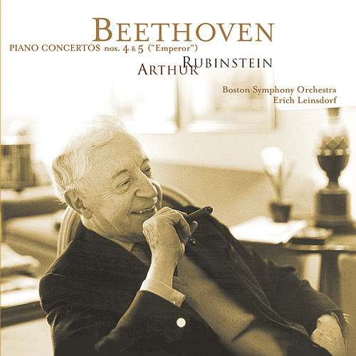 Rubinstein Collection, Vol. 58: Beethoven: Piano Concertos Nos. 4 and 5 by Arthur Rubinstein