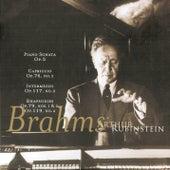 Play & Download Rubinstein Collection, Vol 21: Brahms: Sonata No. 3 in F Minor, Capriccio, Intermezzo, Rhapsodies by Arthur Rubinstein | Napster